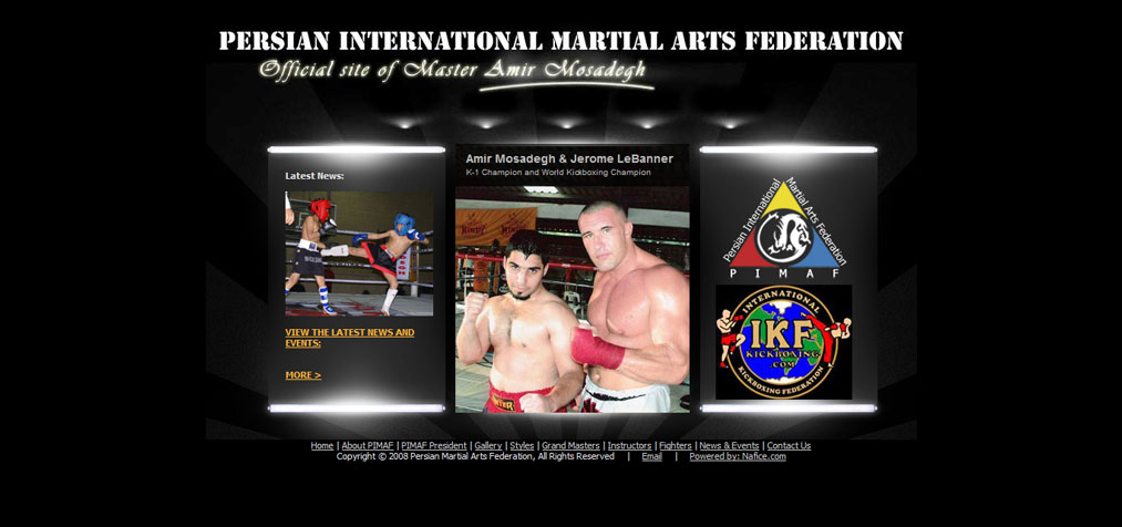 Persian-International-Martial-Arts-Federation-(PIMAF),-Master-Amir-Mosadegh