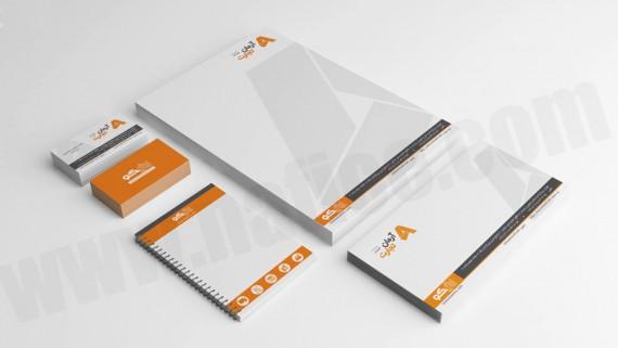 طراحی و چاپ اوراق اداری شرکت ارتباطات اوراکل - -