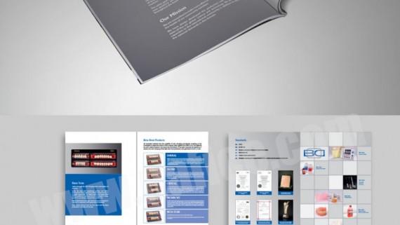 طراحی تبلیغ مجله بیمارستان -  -