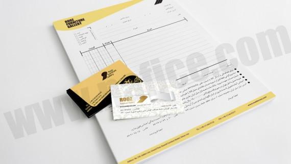 طراحی و چاپ کارت ویزیت شرکت بریس - -