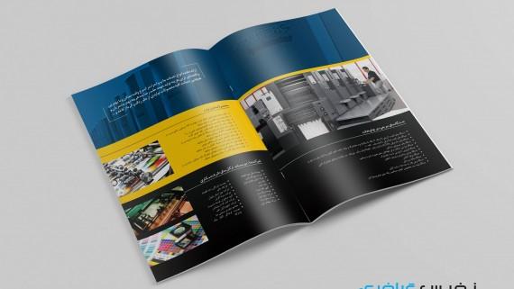 طراحی کاتالوگ شرکت لوله سازی اهواز - پیشنهاد 3 -  -
