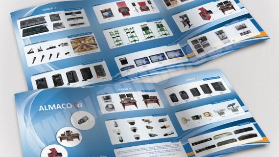 چاپ و طراحی کاتالوگ شرکت صنایع لاستیکی سهند -  -