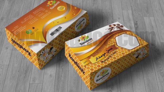 طراحی لیبل شرکت صنایع غذایی کنجا -  -