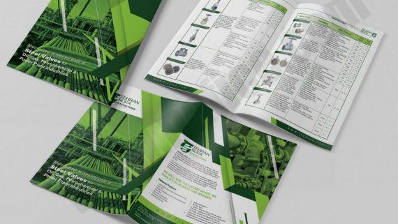 چاپ و طراحی بروشور تجهیزات آزمایشگاهی شرکت پارمیس طب -  -