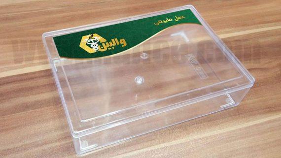 طراحی لیبل جعبه پلاستیکی شرکت تاپکو -  -