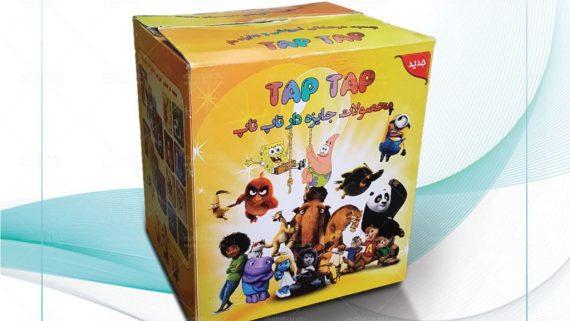 طراحی جعبه فانتزی هرمی شکل اسباب بازی -  -