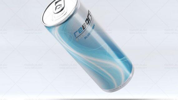 طراحی قوطی نوشابه انرژی زا Reborn-3 -  -