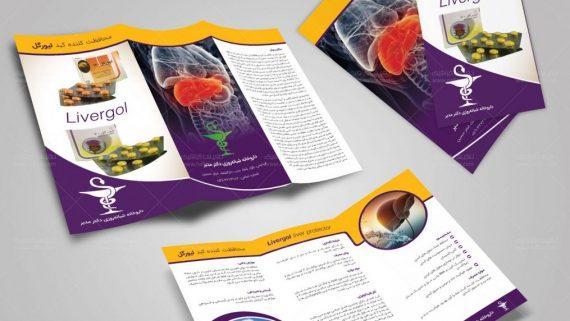 چاپ و طراحی بروشور آ4 شرکت تهران سوفا -  -