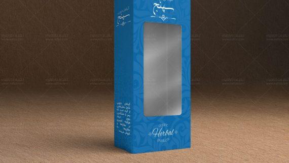 چاپ و طراحی جعبه مقوایی طب پژوهان -  -