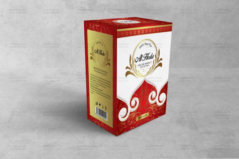 طراحی جعبه چای الهدی - -